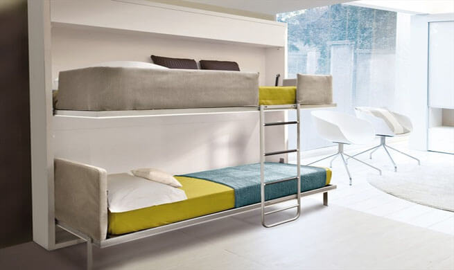 b) Smart and Multifunctional Furniture