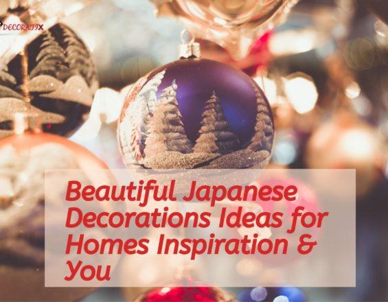 Beautiful Japanese decorations Ideas for homesInspiration & You