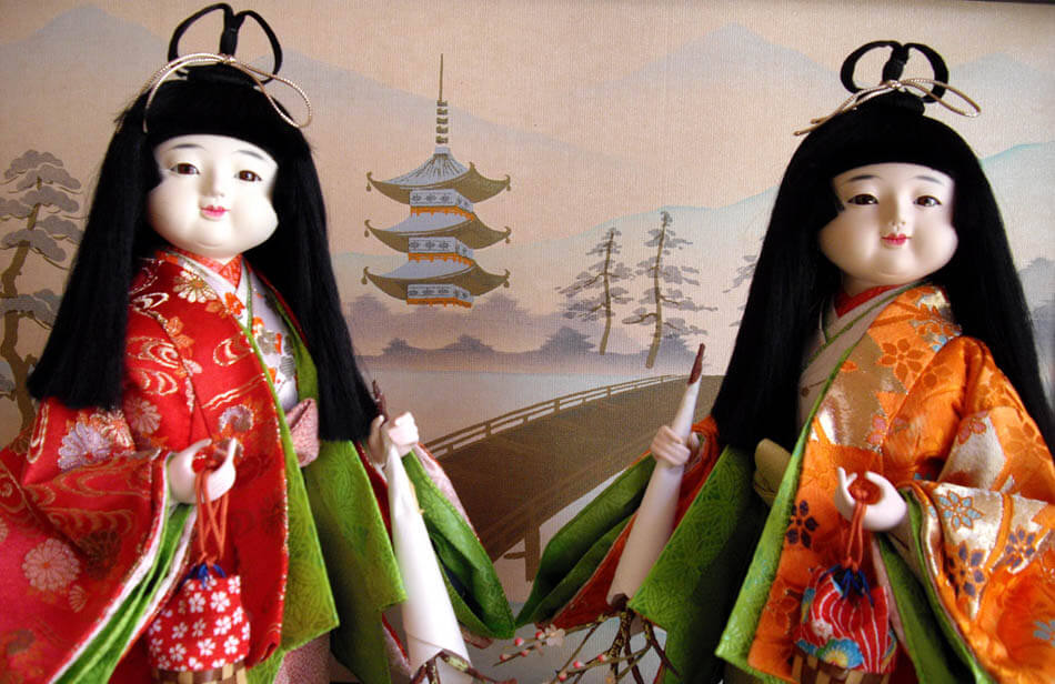 Traditional Japanese Dolls