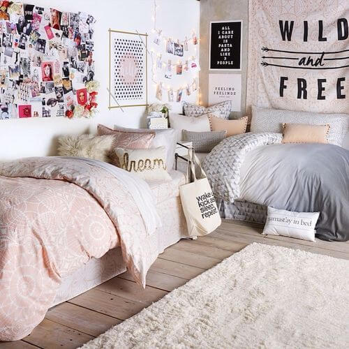 Twin Bed? Nestle It in the Corner