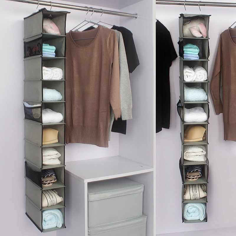 Clothing & Shoes in Storage Bins