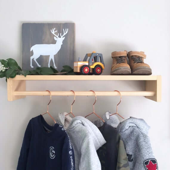 Hang Your Kid's Clothes